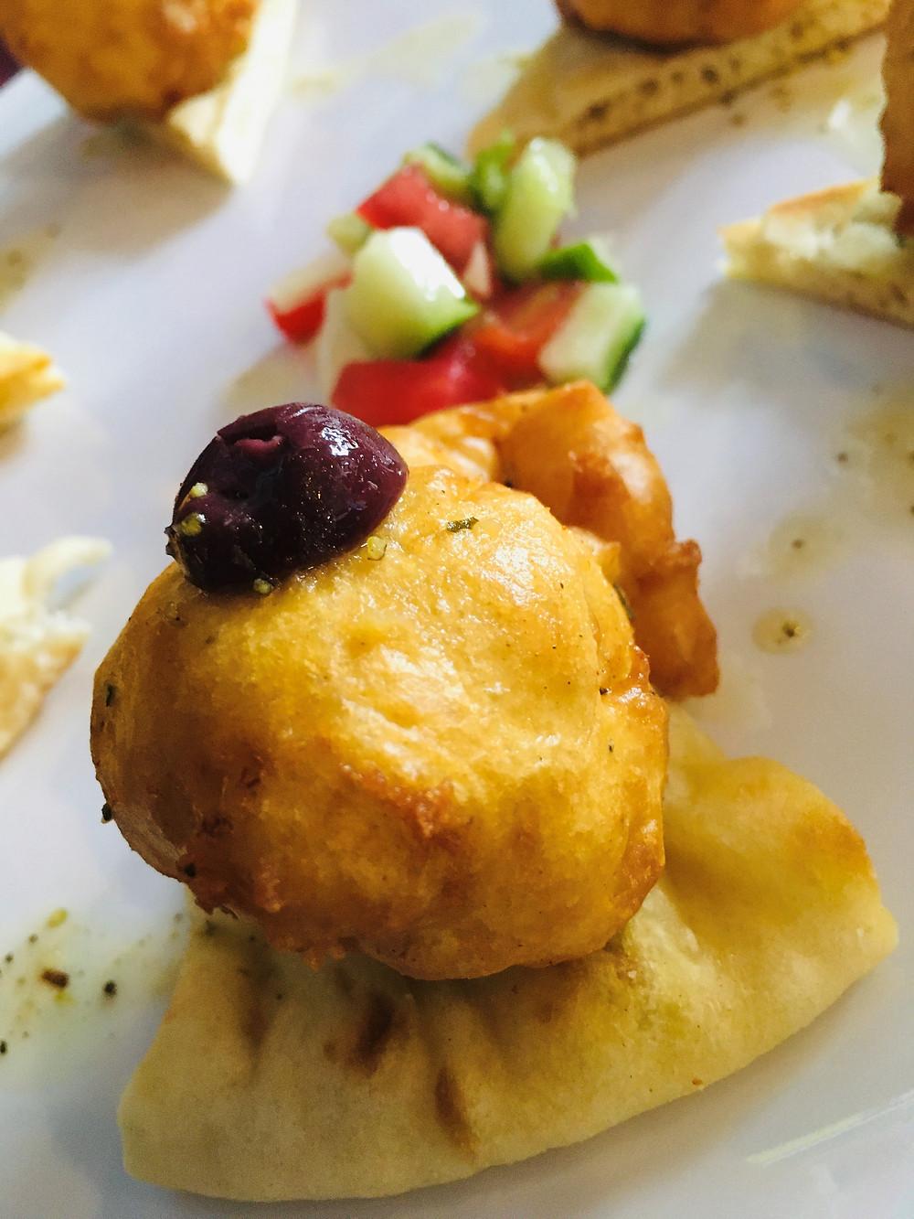 Deep Fried Feta at Adelphia