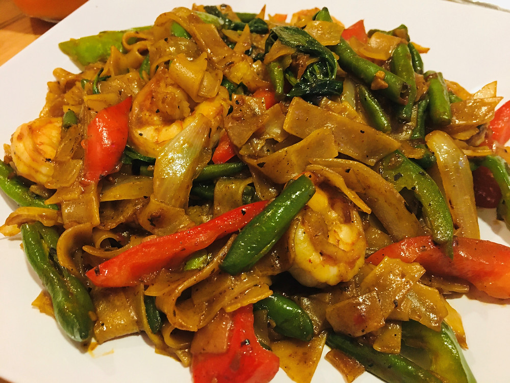 Drunken Noodles from Elephant Thai