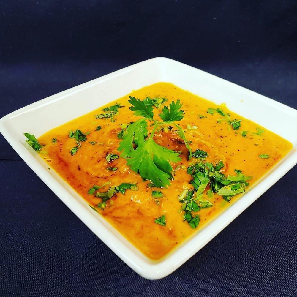 Chicken tikka masala from Nawab
