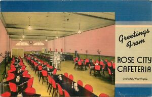 Rose City Cafeteria postcard