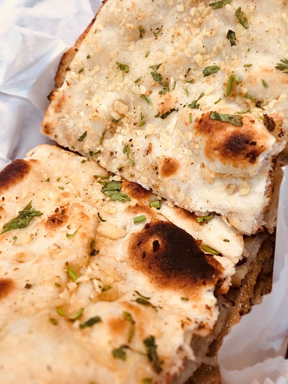 Naan flatbread from Nawab