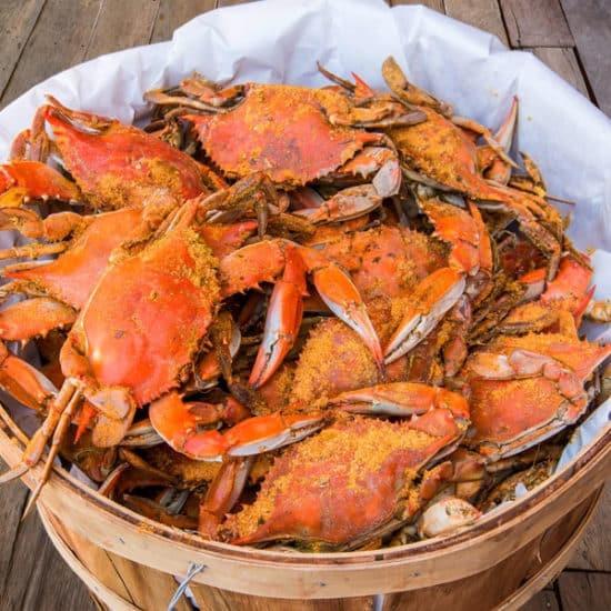 Summersville reader J.D.'s crab dinner