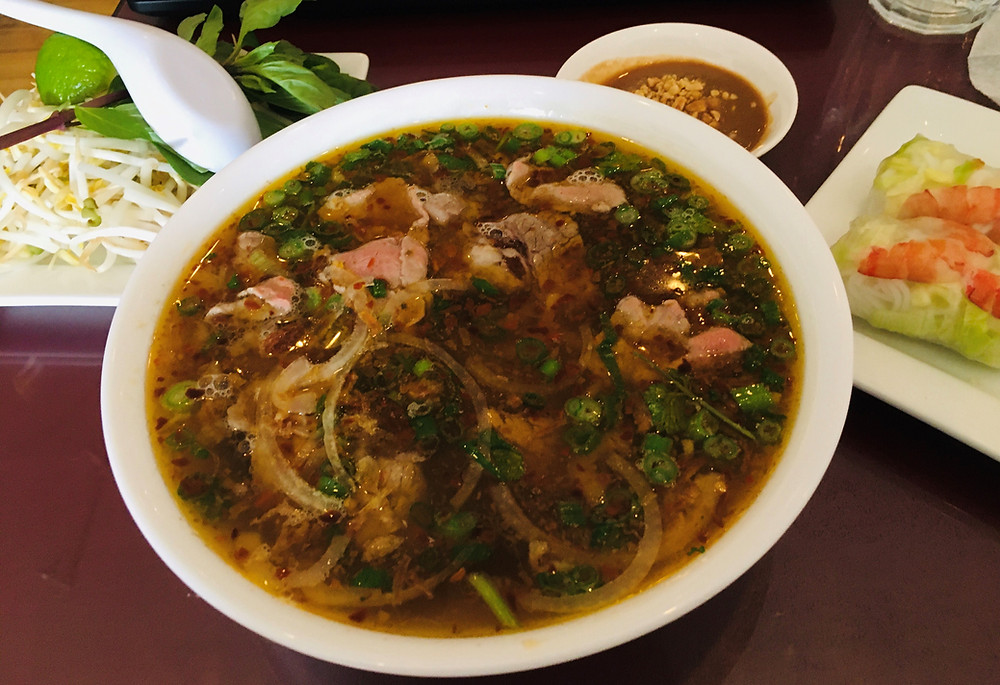 Spicy Beef Pho from Pho Vinh Long