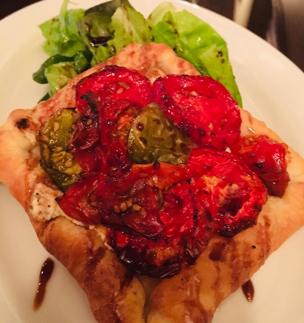Tomato tart from Noah's Restaurant & Lounge