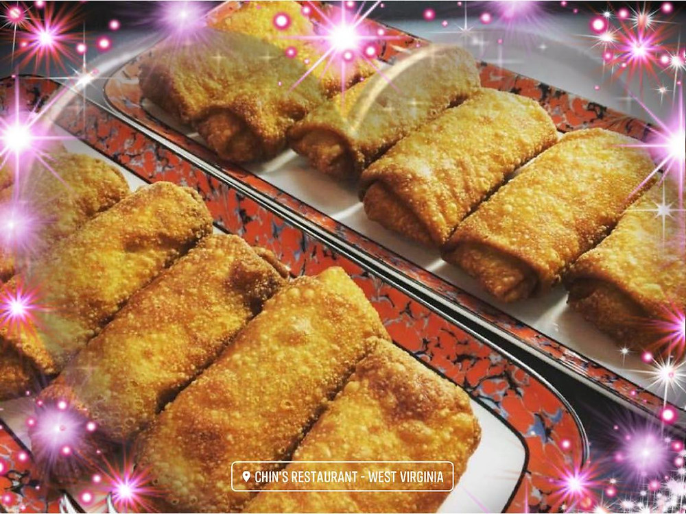 Famous Eggrolls from Chin's Restaurant