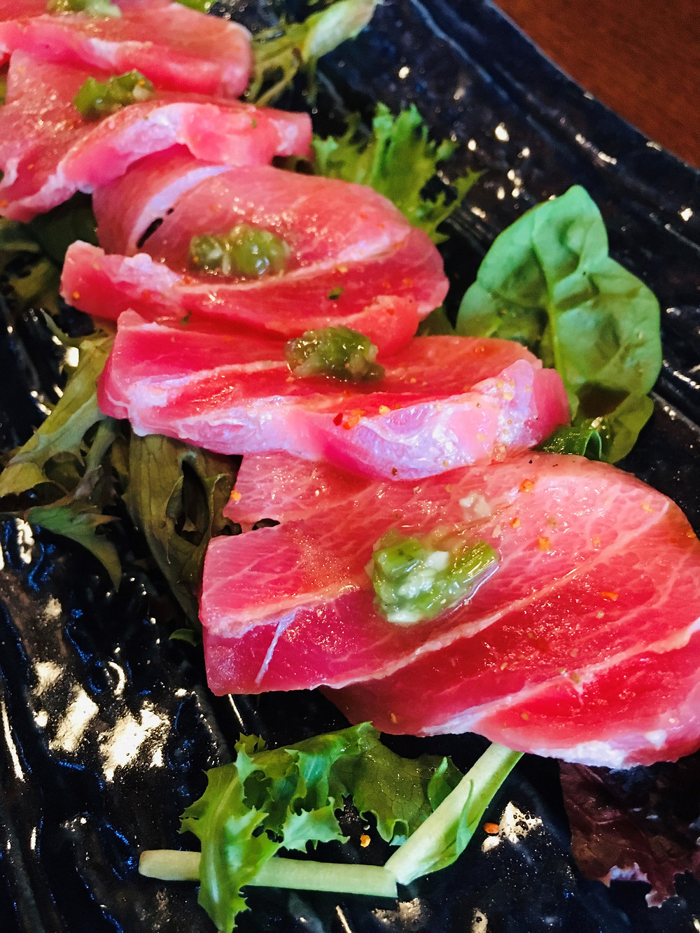 Tuna Belly Sashimi from Ichiban