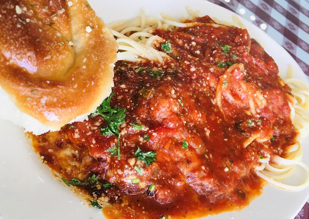 Eggplant Parmesan from Mama Di Roma