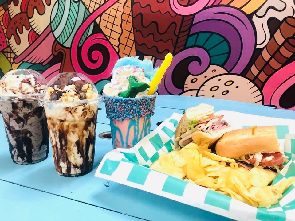 Stacked Shake & Sandwich in St. Albans