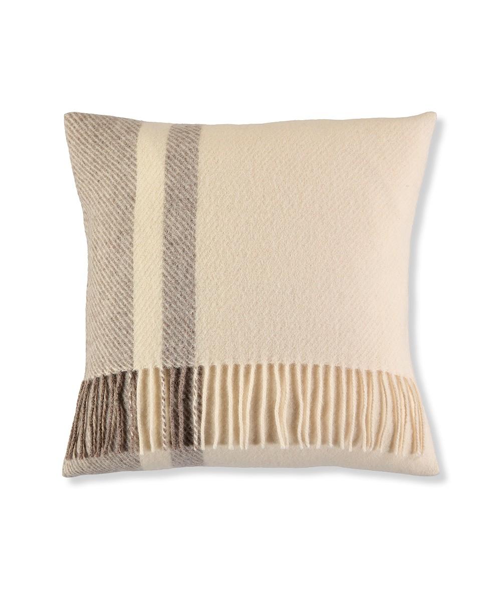 Wool cushion