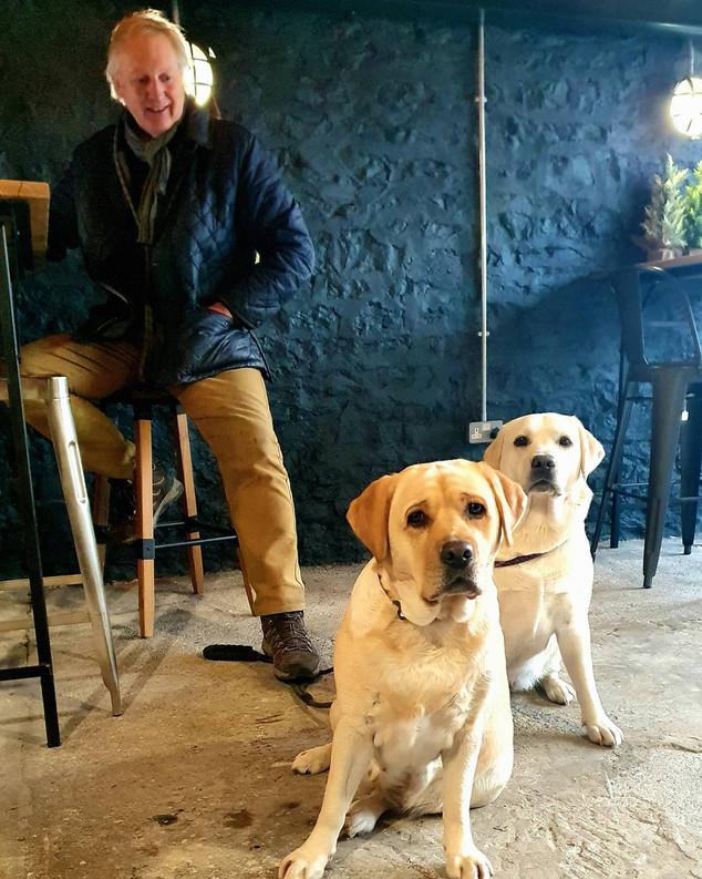 Dog friendly at The Lounge Cafe Llandeilo