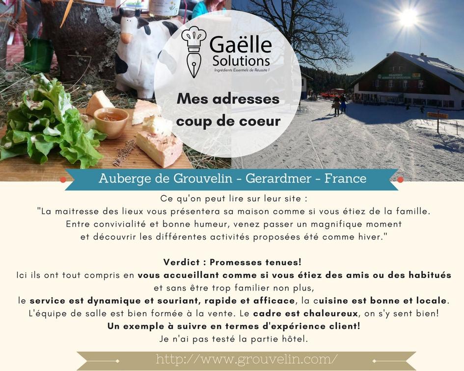 Auberge de Grouvelin Gerardmer France