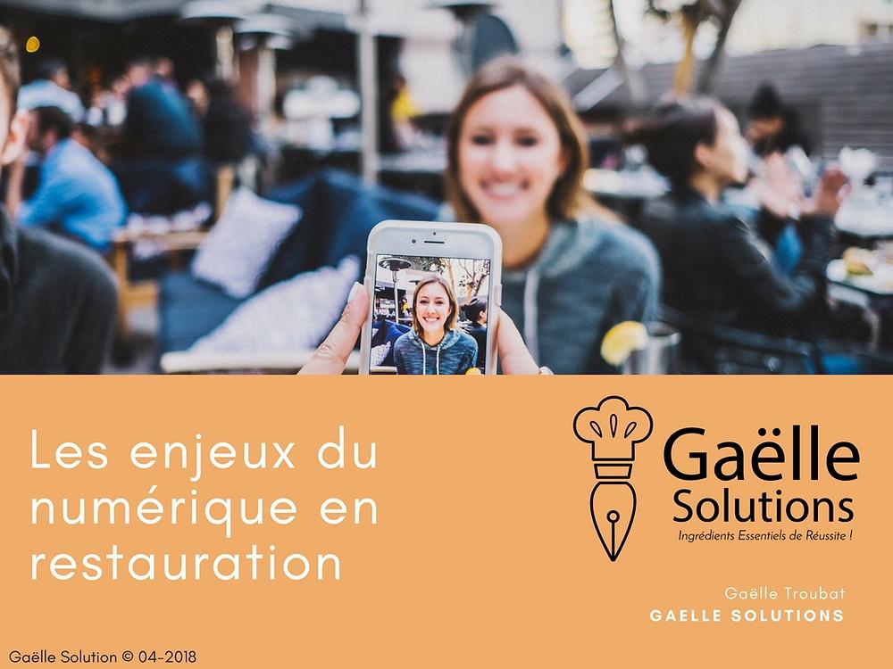 Gaëlle Solutions enjeux numériques en restauration