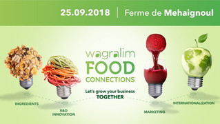 Info flash : rendez-vous le 25 septembre au Wagralim Food Connections 2018