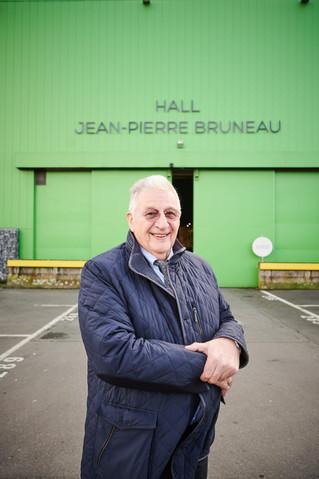 La halle G du Marché Matinal de Bruxelles baptisée du nom du Chef bruxellois Jean-Pierre Bruneau