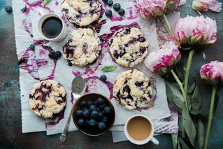Tendances food 2018, le violet et le flower power