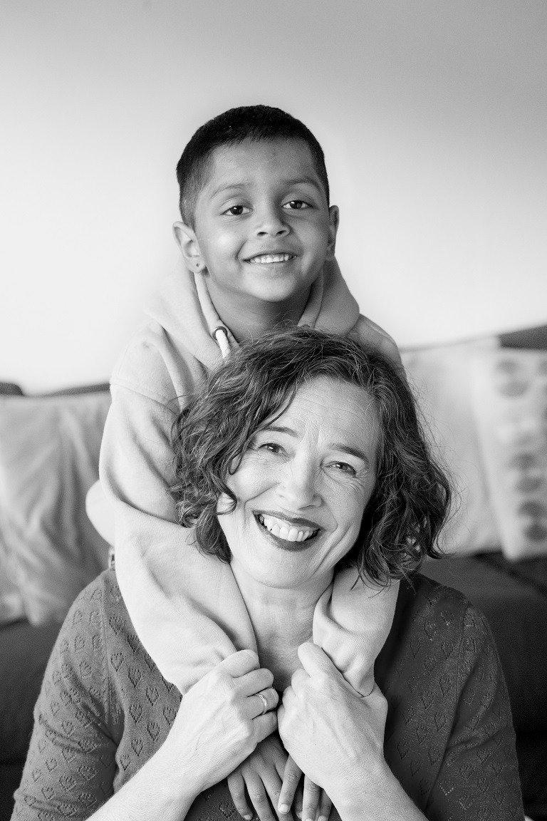 Anneke als opvoedcoach met haar neefje