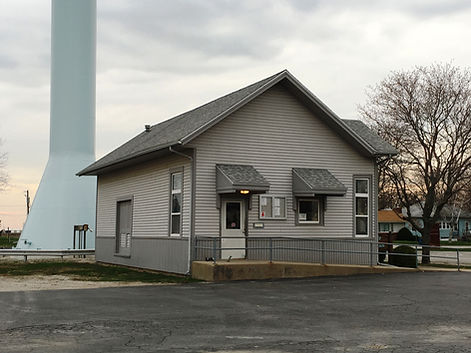 Village hall, 101 W south St., Flanagan, IL