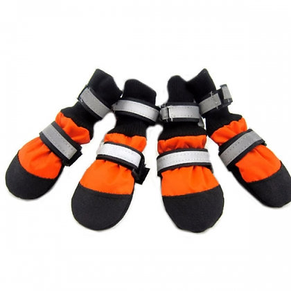 Citysport Dog Paw Protectors Orange