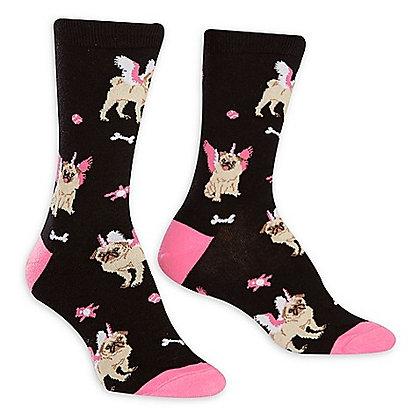 Sock It To Me Pugasus Women's Crew Socks