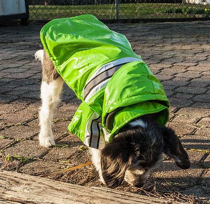 Reflective Glow Waterproof Dog Raincoat