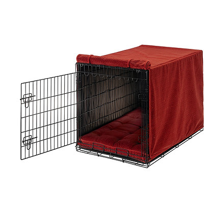 Cherry Bones Micro Velvet Dog Crate Cover