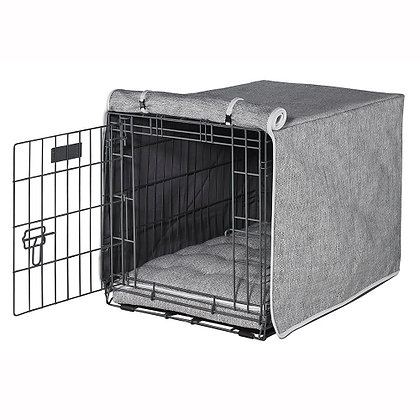 Allumina Microlinen Dog Crate Cover