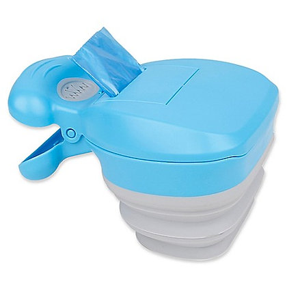 Fuzzy Fusion Clean Hands Collapsible Poop Scooper