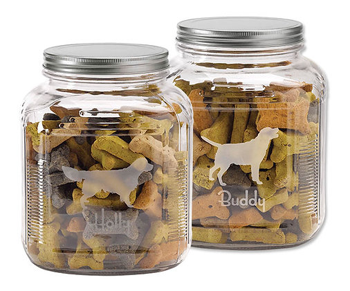 Personalized Dog Breed Treat Jar