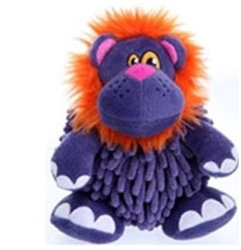 Mopz Purple Lion Dog Toy