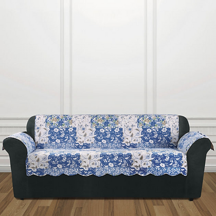 Sure Fit Heirloom Quilted Sofa Furniture Cover