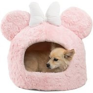 Minnie Mouse Shag Cave Dog Bed