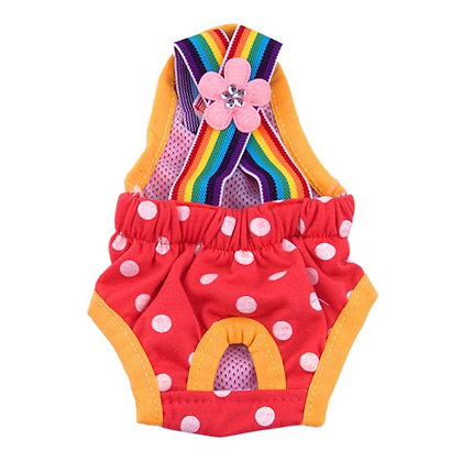 Dog Sanitary Pants with Suspenders