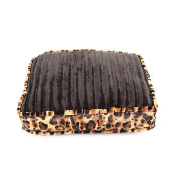 Rectangle Dog Bed Black Mink
