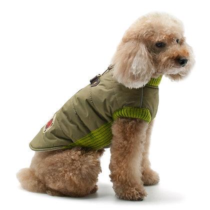 Army Runner Dog Coat