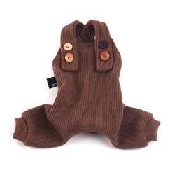 Knit Jumpsuit Brown