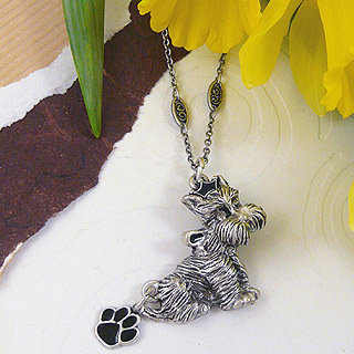 Dogs Rule Terrier Necklace