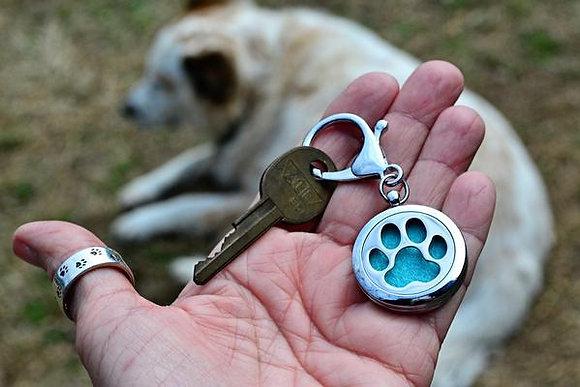 Lone Paw Aromatherapy Key Chain