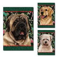 Holiday Treats Dog Breed Flag