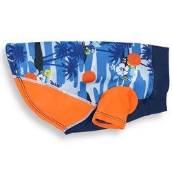 Sun Protective Rashguard Shirt Tropical Blazing Island