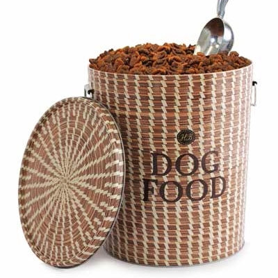 Sweetgrass Basket Food Storage Canister