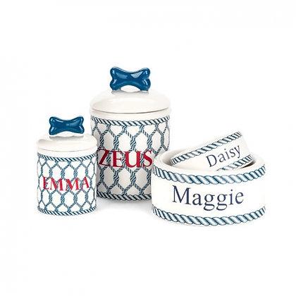 Personalized Ceramic Dog Treat Jar