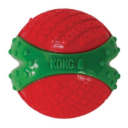 KONG Holiday CoreStrength Dog Ball