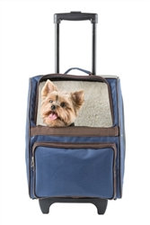 RIO Navy Rolling Dog Carrier
