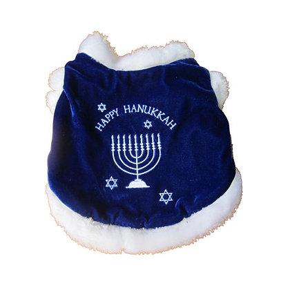 Happy Hanukkah Dog Coat Costume