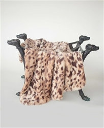 Luxe Collection King Leopard Dog Blanket