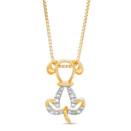 Sterling Gold Plate Pendant