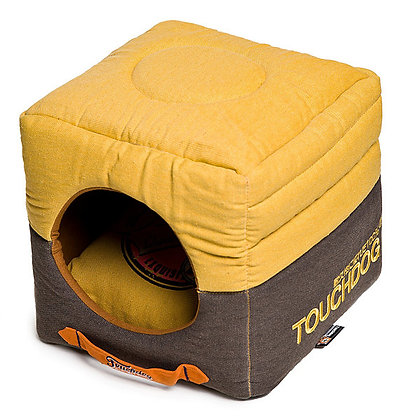 Touchdog Reversible Square Pet Bed