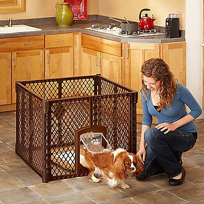 MyPet 4-Panel Petyard Passage Brown