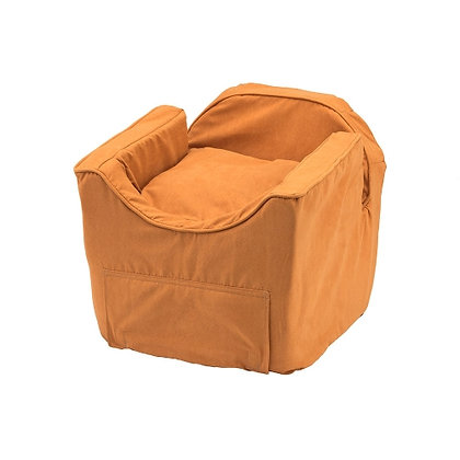 Luxury Lookout Dog Car Seat Orangeade