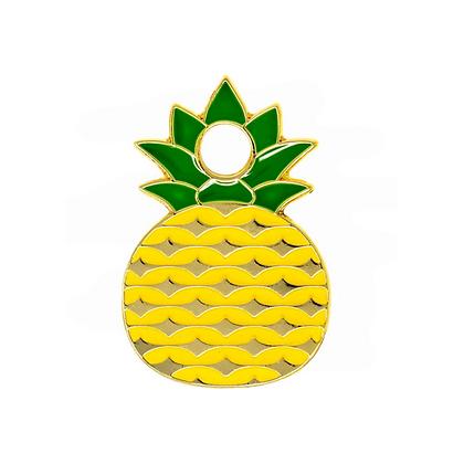 Pineapple Engraved Pet ID Tag